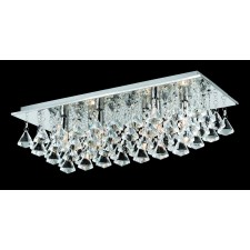 Impex Parma 6-Light Ceiling Light - Chrome