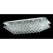 Impex Parma Ceiling Light Chrome - 8 Light