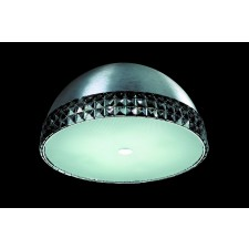 Impex Polo Ceiling Light - 4 Light, Chrome
