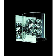 Impex Sonja Wall Light Chrome - 1 Light