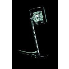 Impex Sonja Table Lamp Chrome - 1 Light