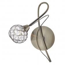 Circa Single Wall Light - Antique Brass