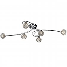 Circa 6 Light Flush Ceiling Light