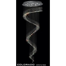 Diyas Colorado Pendant 12 Light Polished Chrome/Crystal
