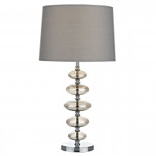 Cowley Table Lamp Smoked