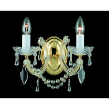 Impex Marie Theresa Wall Light - 2 Light