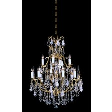Impex Montmartre Chandelier,French Gold - 12 Light