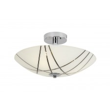 Crosby Flush Ceiling Light
