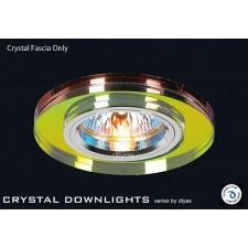 Diyas Spectrum Crystal Round Downlight (Rim Only)