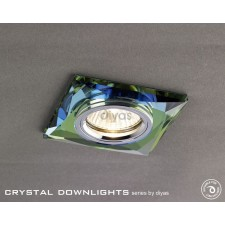 Diyas Square Crystal Downlight Spectrum (Rim Only)