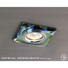 Diyas Square Crystal Downlight Spectrum (Rim Only)