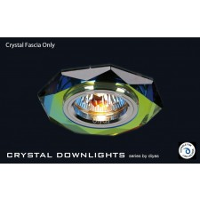 Diyas Spectrum Crystal Hexagonal Downlight (Rim Only)