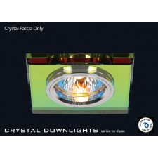 Diyas Spectrum Crystal Square Downlight (Rim Only)