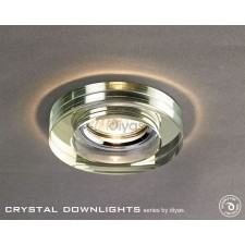 Diyas Round Crystal Downlight White Wine (Rim only)
