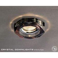 Diyas Hexagon Crystal Downlight Purple (Rim Only)