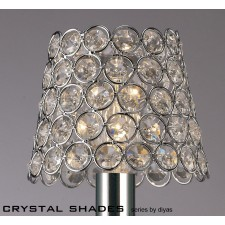 Diyas Clip On Shade Chrome/Crystal