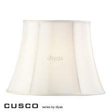 Diyas Cusco Large Hexagon Shade 1 Light Cream