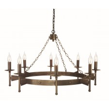 Elstead CW8 OLD BRZ Cromwell 8 - Light Chandelier Old Bronze