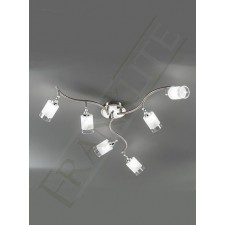 Franklite DP40026 Campani 6 Light Fitting