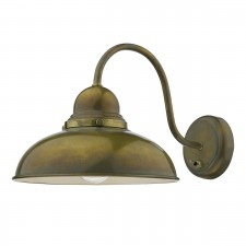 Dynamo 1 Light Wall Bracket Weathered Brass