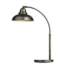 Dynamo Table Lamp Antique Chrome
