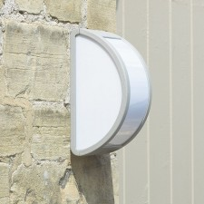 Outdoor Wall Light in Silver