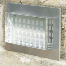 Aluminium IP44 Wall Light - White LEDs