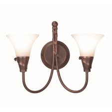 Elstead EM2 COPPER Emily 2 - Light Wall Light Copper