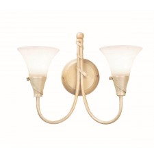 Elstead EM2 IV/GOLD Emily 2 - Light Wall Light Ivory Gold