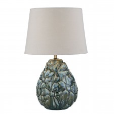 Ensa Table Lamp Blue complete with Shade