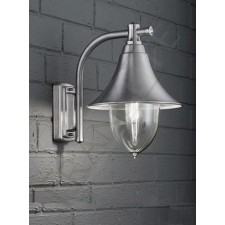 Franklite Lorenz Exterior Wall Light - Marine Grade Stainless Steel, IP44