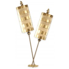 Flambeau FB/NETTLELUXG/TL Nettle Luxe Gold Table Lamp