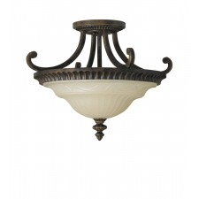 Feiss FE/DRAWINGRM/SFA Drawing Room Semi-Flush Mount A
