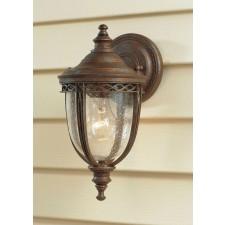 Feiss FE/EB2/S BRB English Bridle 1 - Light Small Wall Lantern British Bronze
