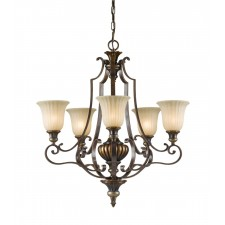 Feiss FE/KELHALL5 UPLT Kelham Hall Up 5 - Light Chandelier