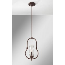 Feiss FE/PICKERINGL/P Pickering Lane 1 - Light Mini Pendant