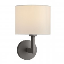 Ferrara Wall Bracket Round With Square Arm Bronze Base Only (Switched)
