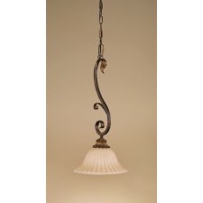 Feiss FE/SONOMAVAL/P Sonoma Valley 1 - Light Mini Pendant