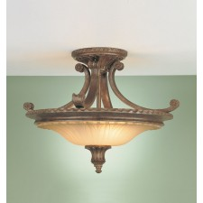 Feiss FE/STIRLINGCASSF Stirling Castle 2 - Light Semi-Flush