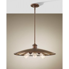 Feiss FE/URBANRWL/3P/E Urban Renewal 3 - Light Large Pendant