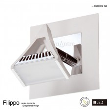 Filippo Spot Light 1 Light LED 5W White/Chrome 3000K