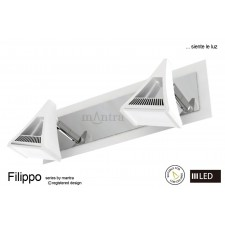 Filippo Spot Light 2 Light LED 10W White/Chrome 3000K