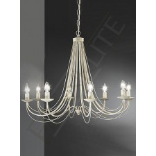 Franklite FL2172/8 Philly 8 Light Fitting