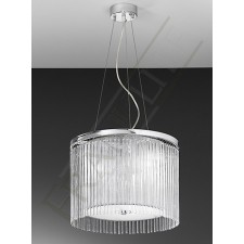 Franklite Eros Pendant Light - 3 Ligh, Chrome
