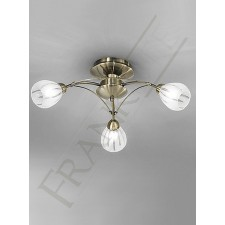 Franklite FL2207/3 Chloris 3 Light Fitting