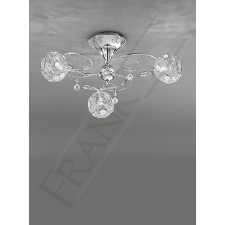 Franklite FL2214/3 Orion 3 Light Fitting