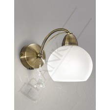 Franklite Thea Single Wall Light - 1 Light, Bronze