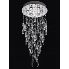 Franklite FL2320/6 Shimmer 6-Light Ceiling Flush