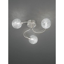 Franklite FL2327/3 Gyro 3-Light Ceiling Flush