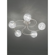 Franklite FL2327/5 Gyro 5-Light Ceiling Flush